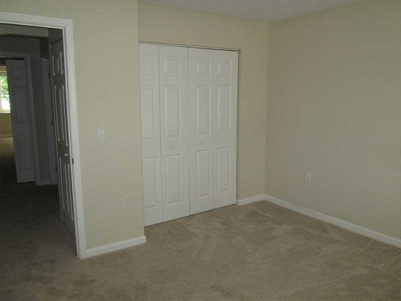 Closet with Bi-Fold Doors